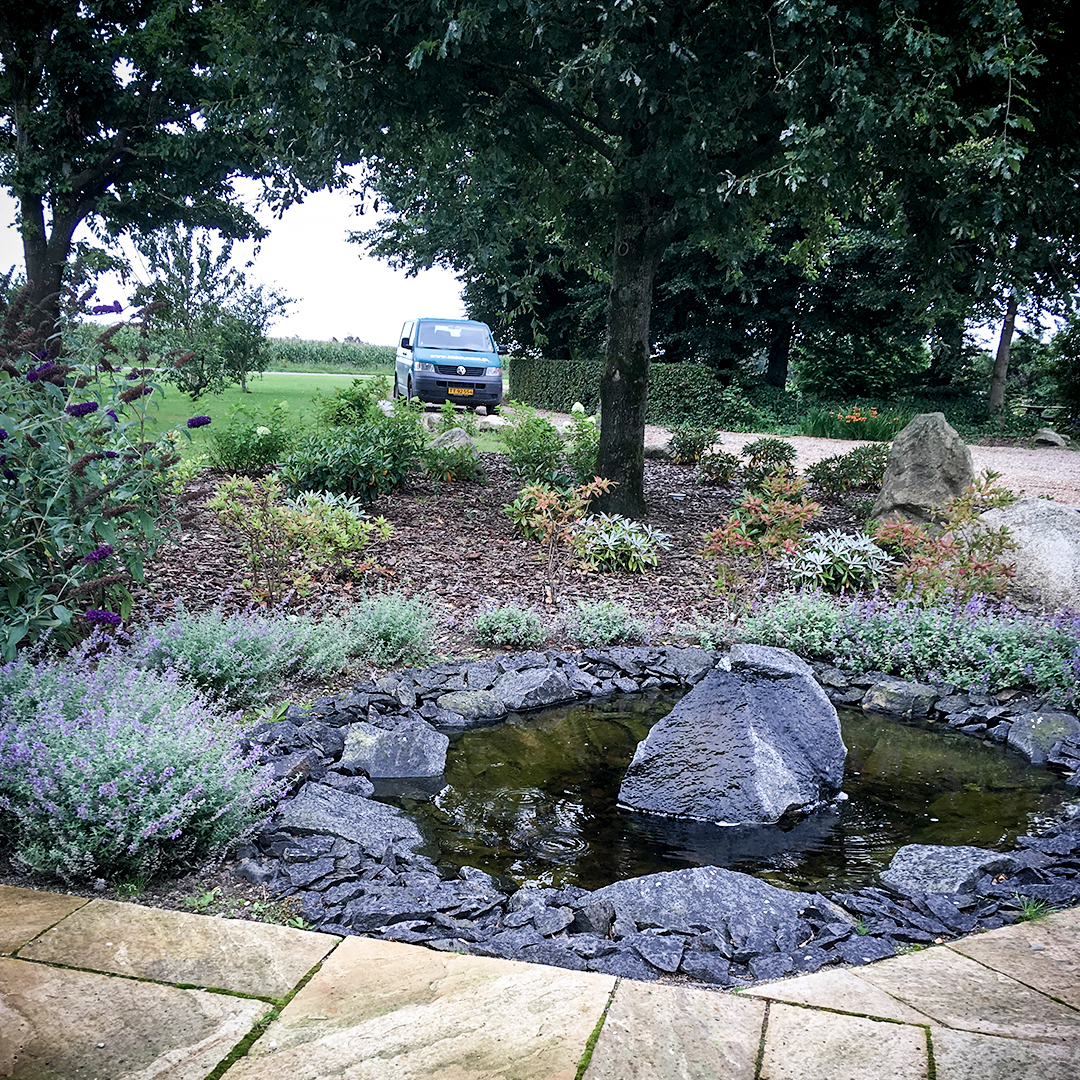 Nyanlægning og renovering af have og anlæg